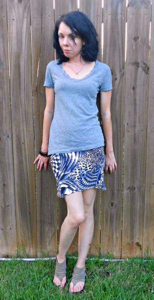 Day 335:  Turtleneck Skirt 6