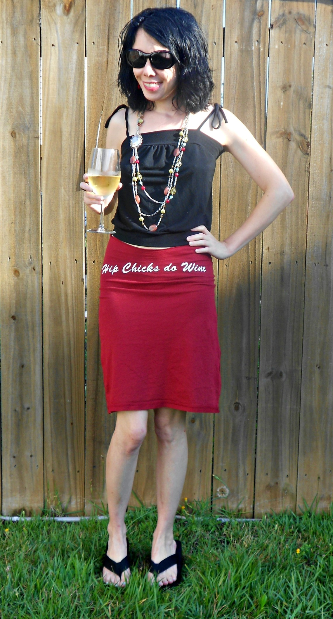 Day 340:  Hip Chicks do T-shirt Skirts! 1