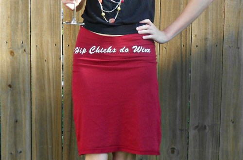 Day 340:  Hip Chicks do T-shirt Skirts! 4