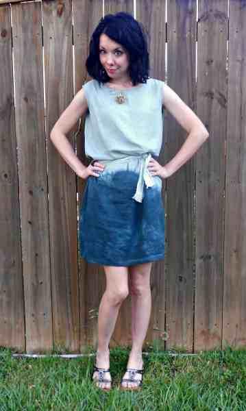 Day 341:  I dip, you dip, we dip!  Dress 13