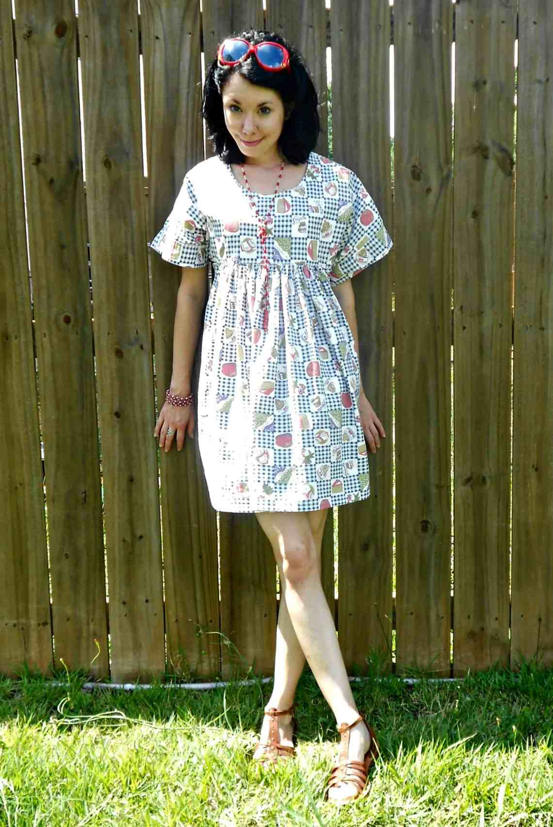 Day 343: Fab Foodie Dress 8