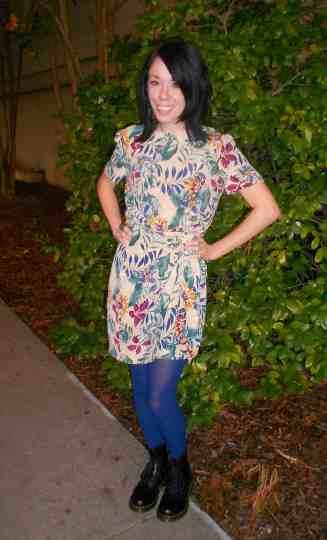 Walk on the Wilde Side Dress 7
