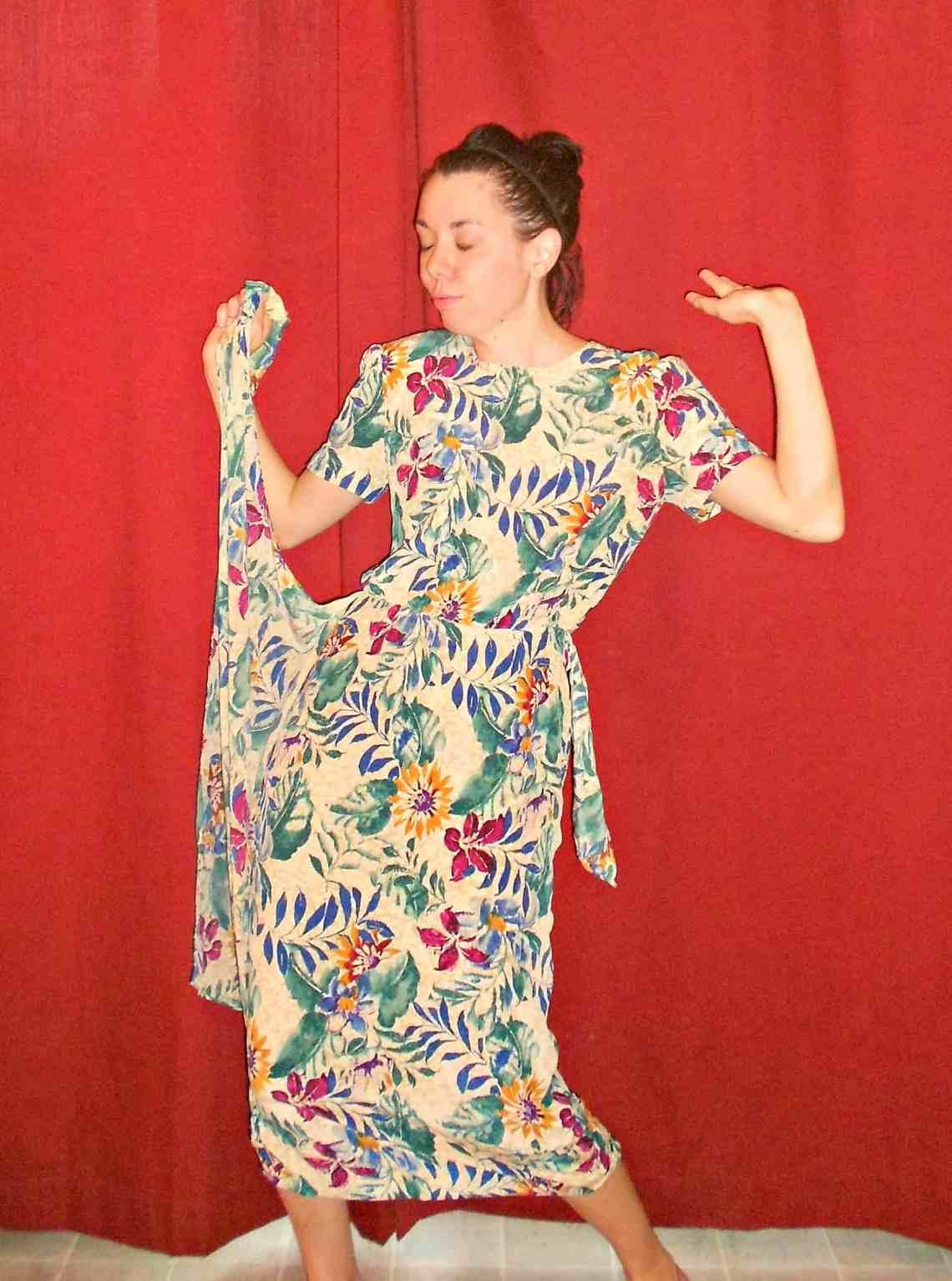Walk on the Wilde Side Dress 1