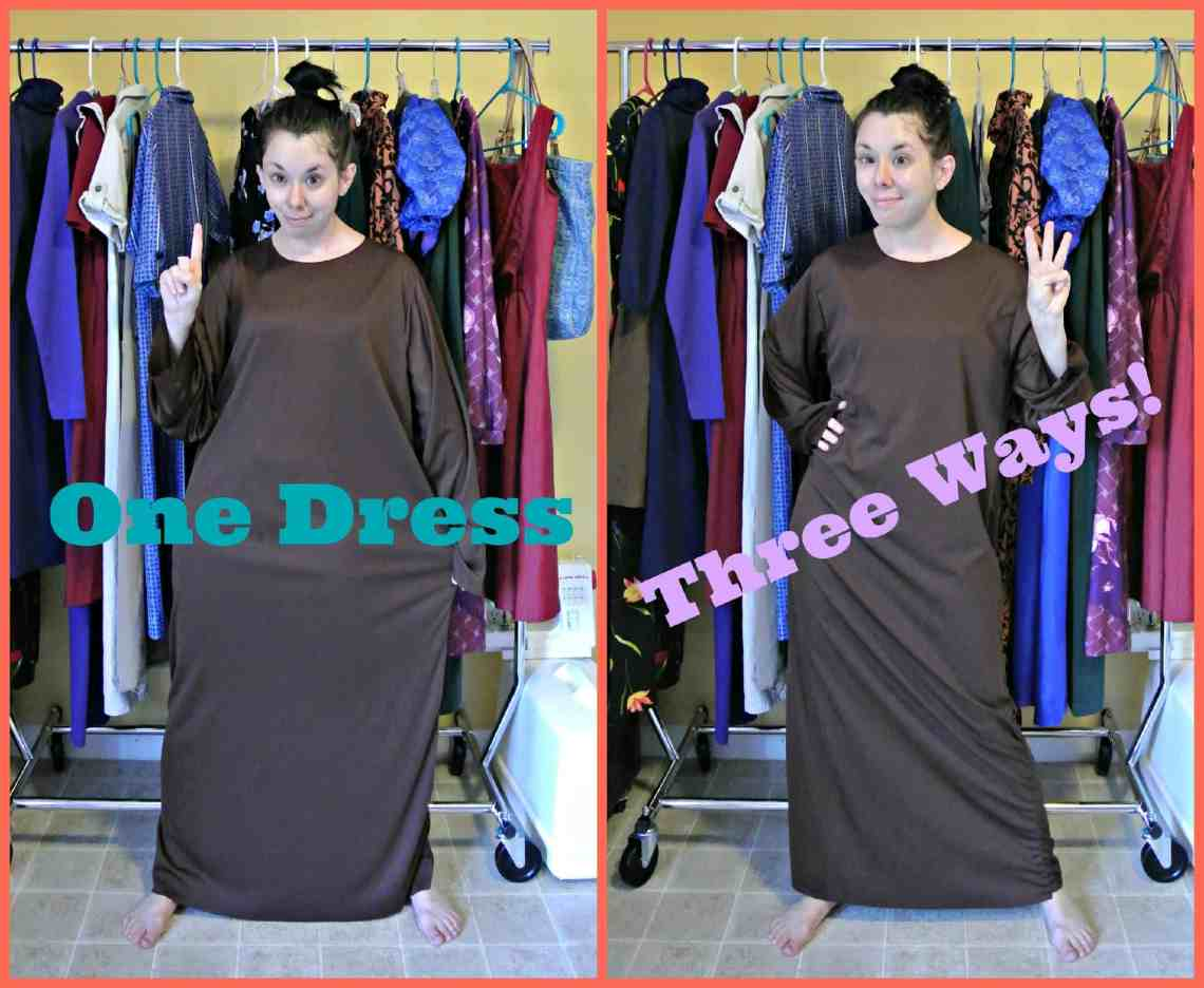 One Dress, Three Ways! 1