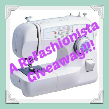 Q&A Monday:  A Pay it Forward Sewing Machine Giveaway! 1