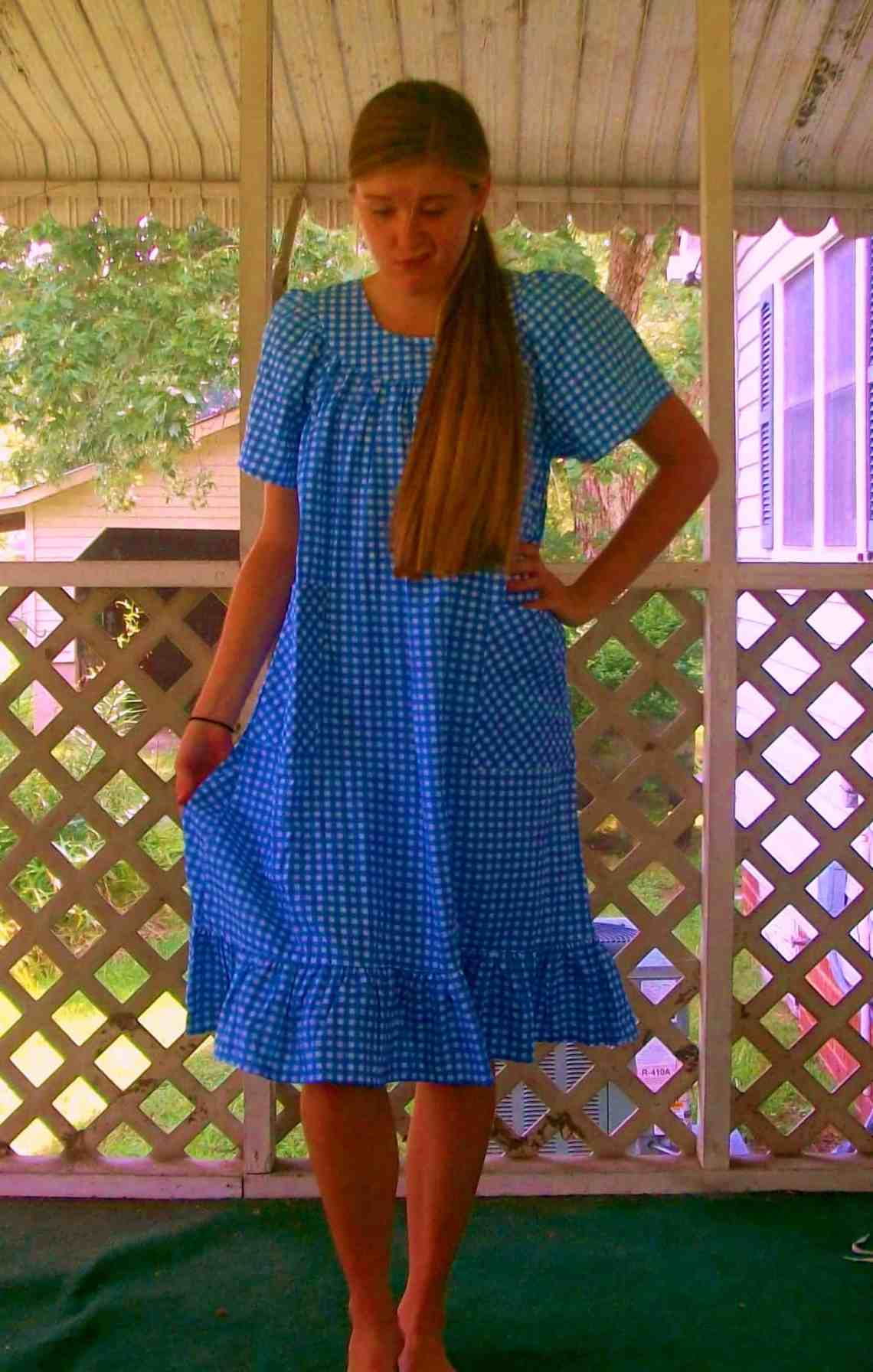 We're Not in Kansas Anymore - Kat's Darling Dorothy Costume! 1