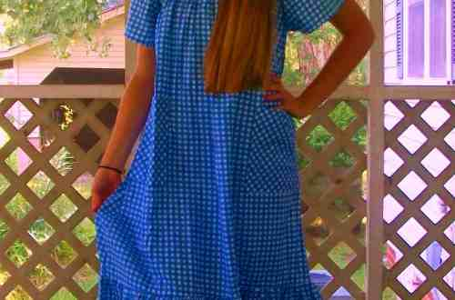 We're Not in Kansas Anymore - Kat's Darling Dorothy Costume! 12