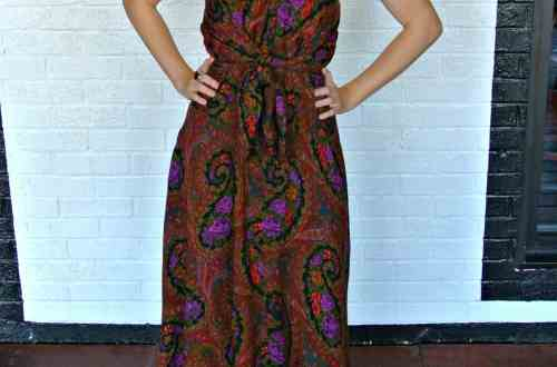 A Too Darn Hot No-Sew Refashion 4