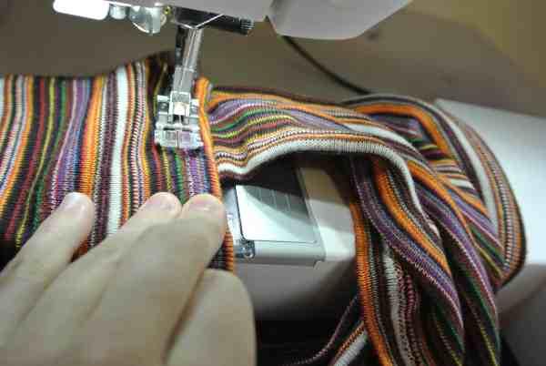 stitching with zizag stitch