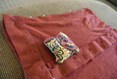 Just a lil pin & stitch!