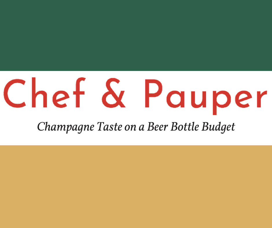 My New Blog: Chef & Pauper