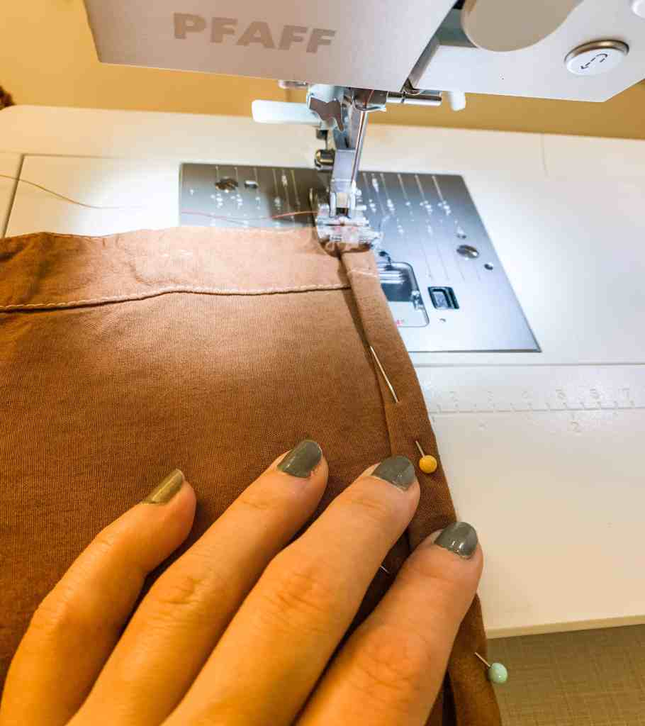 ReFashionista sewing machine closeup