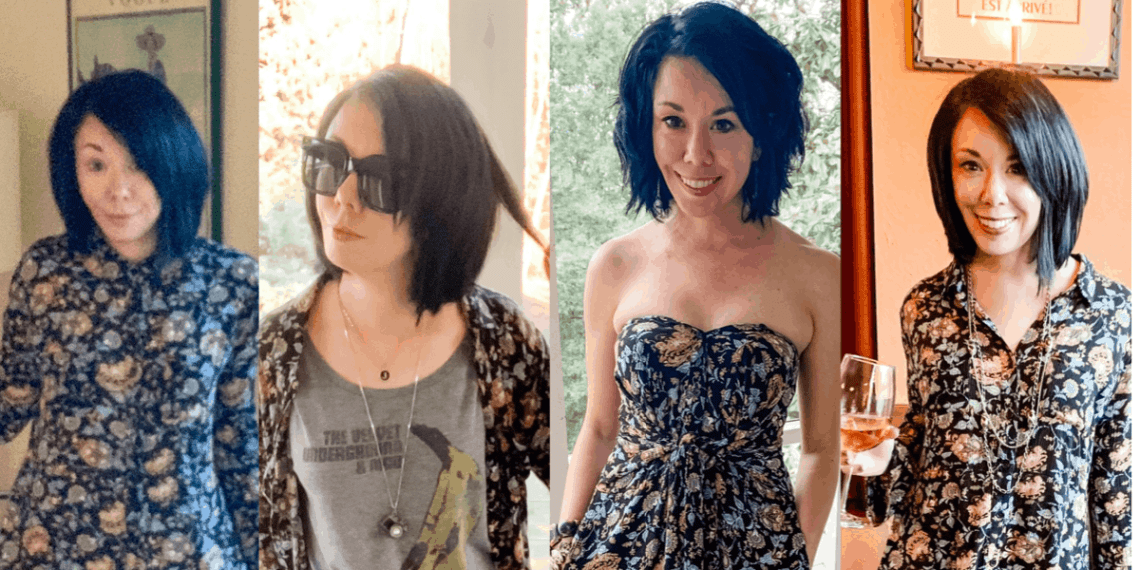 One Dress, Three Ways: 90's Babydoll Dress Edition 10