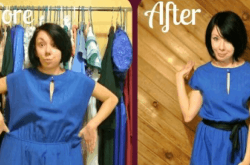 refashionista a new blue refashion featured image