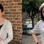 A Duster Sweater-Turned-Sweater Dress Refashion