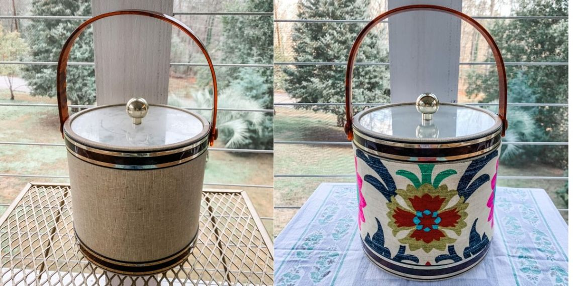 A DIY Ice Bucket Upcycle to Match Your Decor! 8