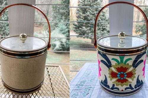 A DIY Ice Bucket Upcycle to Match Your Decor! 10