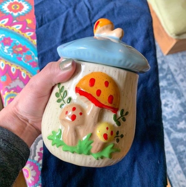 Sadie season goods pin cushion canister