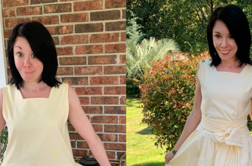 An '80s Jumper to '50s-Inspired Dress Refashion 18