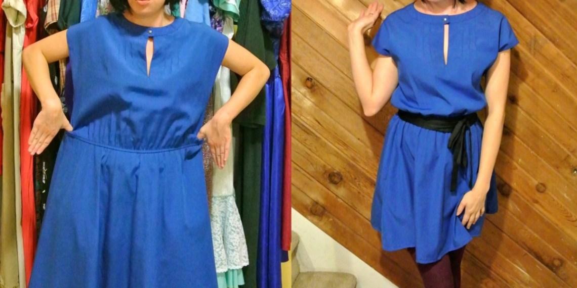 A New Blue Dress ReFashion! 1