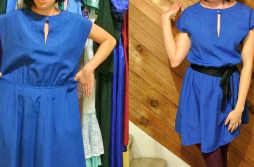 A New Blue Dress ReFashion! 21