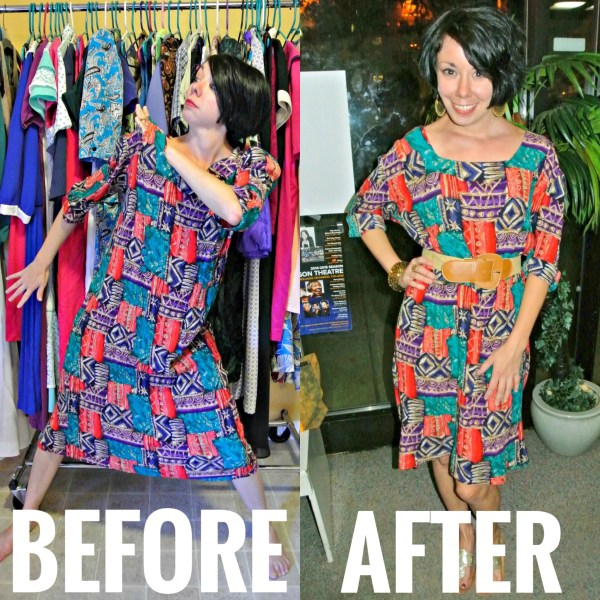it'll do for work refashion before and after