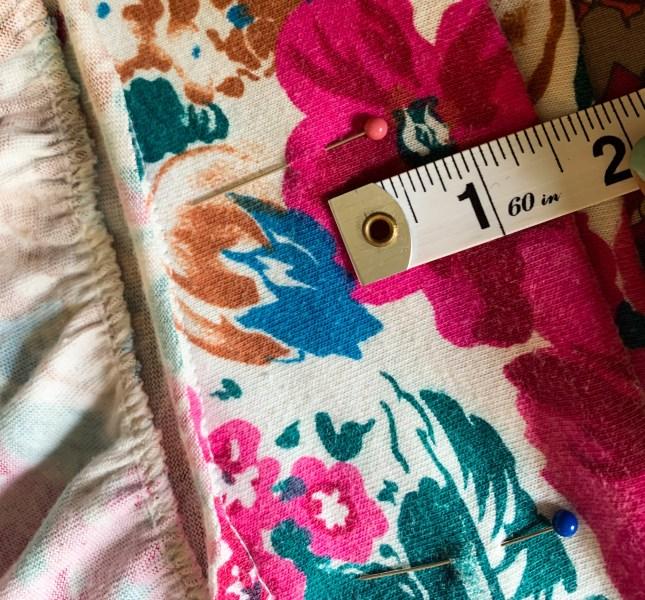 pinning casing for ruffle