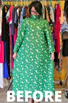 A No-Sew '70s Housecoat to Dress Refashion 2