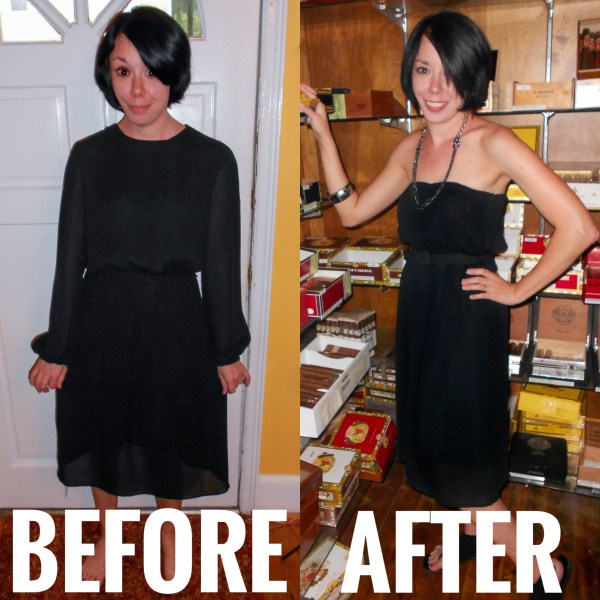 Refashioning a Little Black Mess to a Little Black Dress