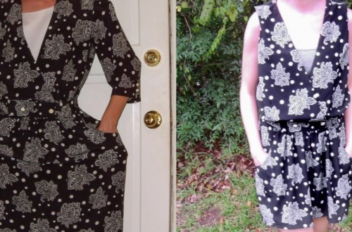 Day 45: From '80s Dress to Sleeveless Minidress 17