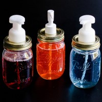 Melinda's #DIY Mason Jar Dispensers