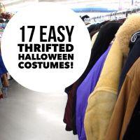 Sammy's easy #thrifted Halloween costume ideas