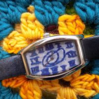 The Embroidered Watch #Refashion
