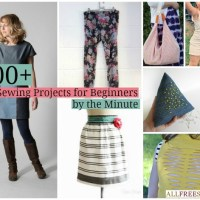 Kaylee's 200+ Easy #DIY #Sewing Projects Round-up