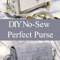 #NoSew #DIY Purse