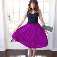 #NoSew #Vintage Dress to Skirt