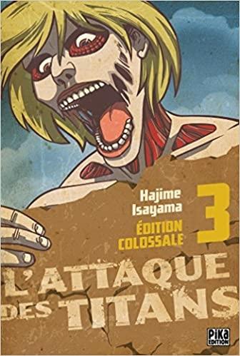 L'attaque Des Titans, Tome 3 : l'attaque, titans,, L'attaque, Titans, Edition, Colossale, Référence, Gaming