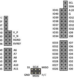 shield connector pin diagram  [ 988 x 900 Pixel ]
