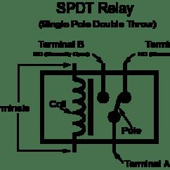 Dpdt Relay Wiring Diagram Nest Thermostat 4 Wires Spdt Schematic Diagram12v Simple 12v