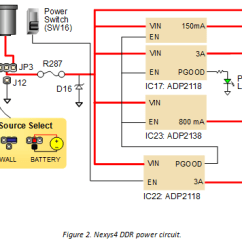 Vga Wiring Diagram Colours 3 Phase Contactor Nexys 4 Ddr Reference Manual Digilentinc 2 Power Supplies