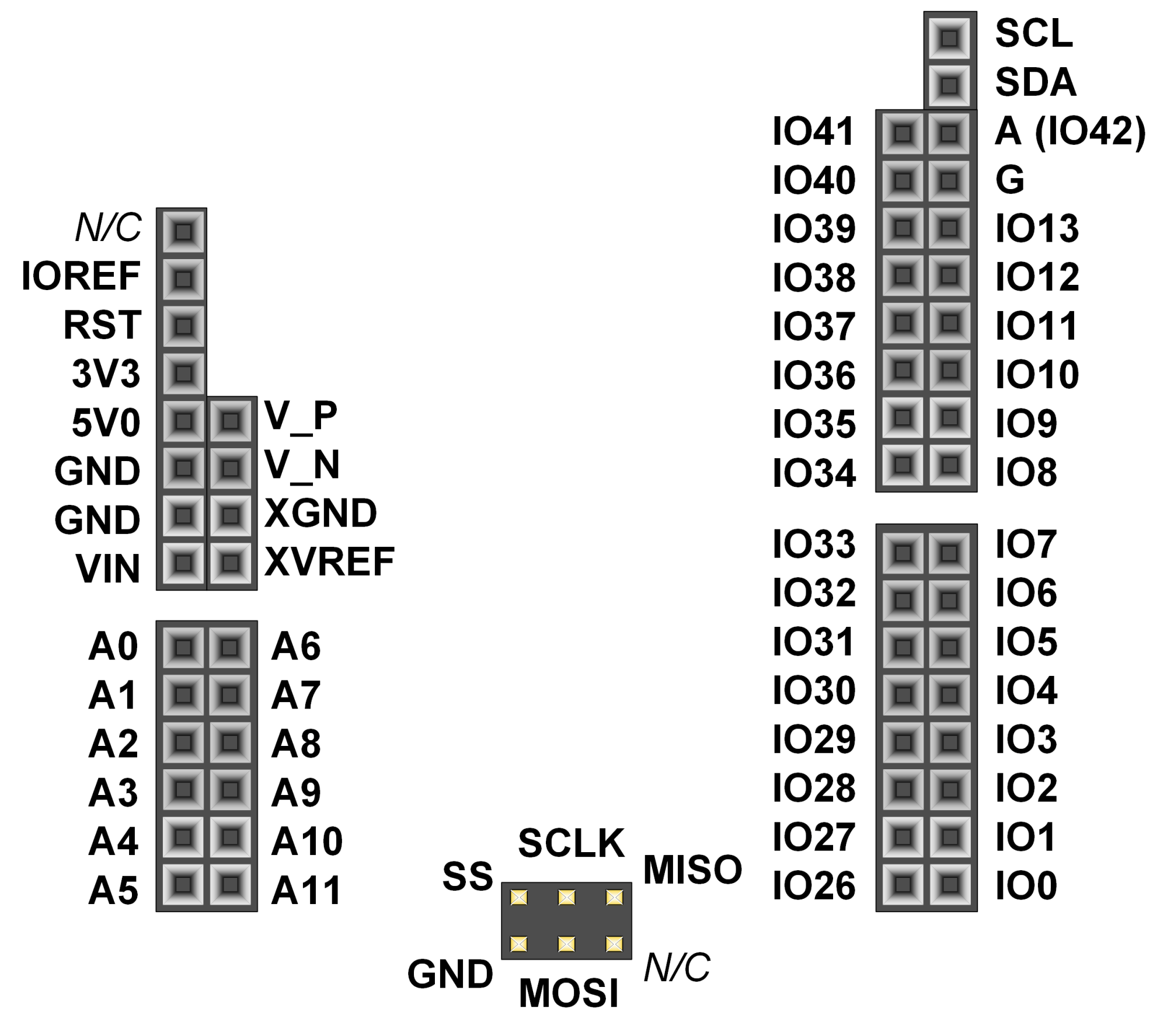 hight resolution of shield connector pin diagram