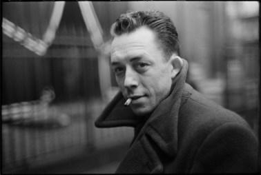 France. Paris. French writer Albert Camus. 1944.