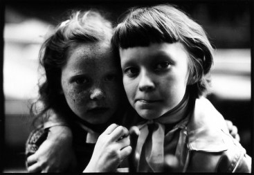 Freckled Girl and Driend - 1950