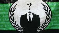 Le logo des Anonymous (Sipa)