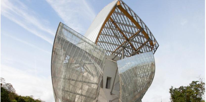 La Fondation Louis-Vuitton, le 17 octobre 2014. (ROMUALD MEIGNEUX/SIPA)