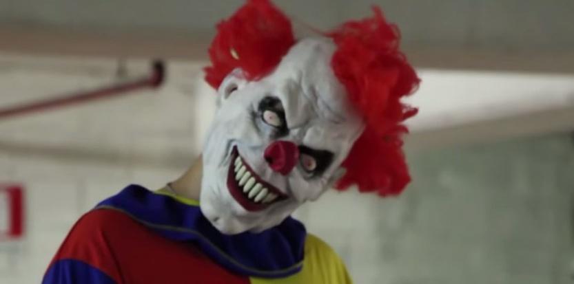 Les clowns agresseurs se multiplient en France. Ici, un spécimen issu de la série DM Pranks. (Capture d'écran)