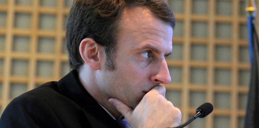Emmanuel Macron, le ministre de l'Economie (c) AFP