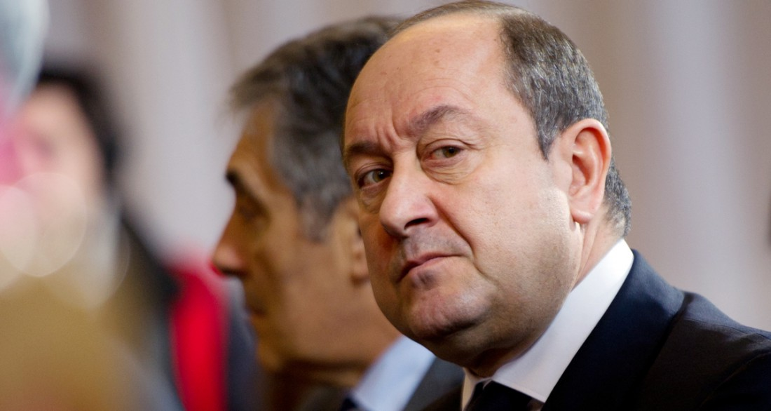 Bernard Squarcini, prédécesseur de Patrick Calvar à la tête des renseignements. (MARTIN BUREAU / AFP)