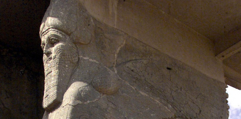 Les ruines assyriennes de Nimroud, en Irak. (KARIM SAHIB/AFP)