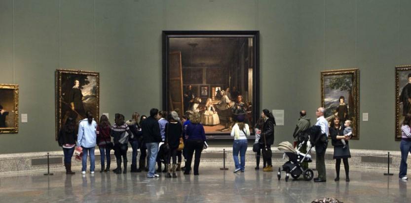 Les Ménines de Velázquez ont assisté à des scènes et des rencontres surprenantes au Prado, à Madrid. (MUSEE DU PRADO)